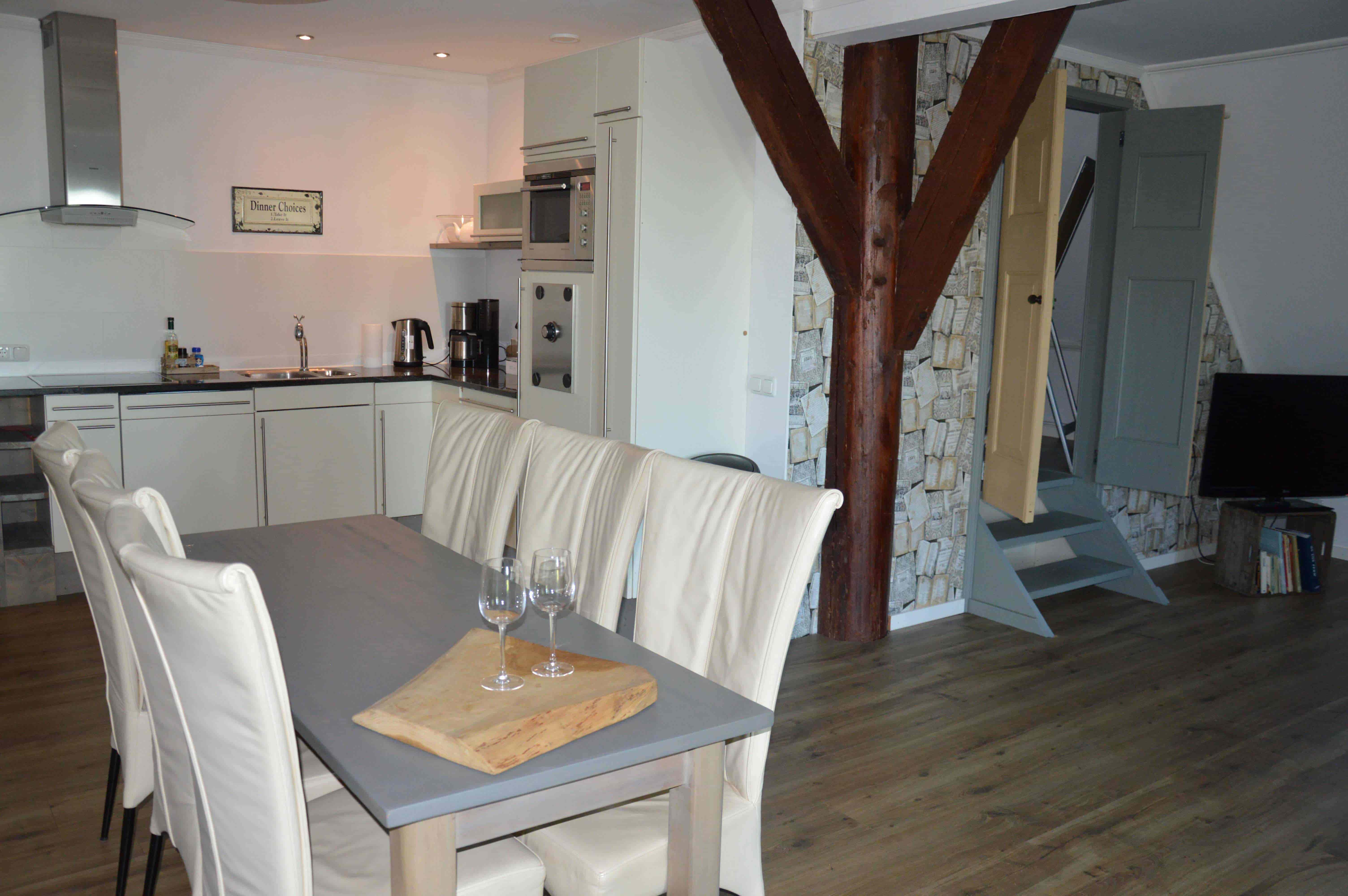 Wellness_appartement_sauna_Bed_&_Breakfast_Friesland_Noord_Nederland_Natuur_Rust_Vrijheid_woonkamer